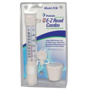 Pentair E-Z Read Combo Sink Or Float Thermometer