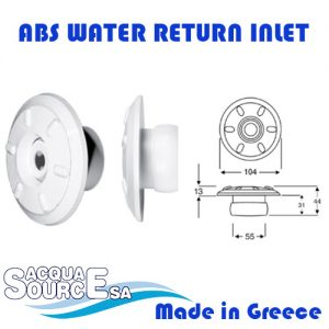Acqua Source ABS Water Wall Inlet