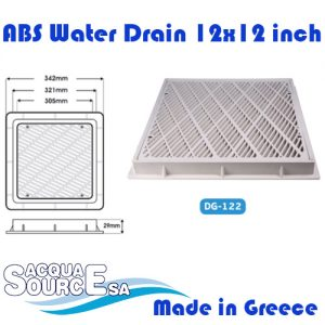 Acqua Source ABS Water Drain 12